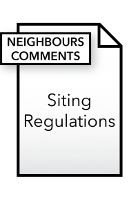 Form_Siting Regulations - Neighbours Comments