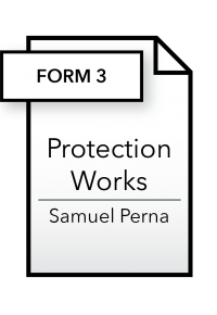 Form_Protection Works - Form 3 - Samuel Perna